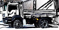 Snehové reťaze pre kamióny